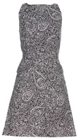 Tory Burch Printed Cotton And Silk-blend Dress