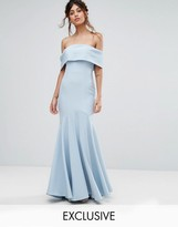 Jarlo Bandeau Maxi Dress With Fishtail