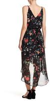 Amy Byer A. Byer Sleeveless Surplus Wrap Hi-Lo Maxi Dress