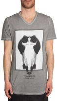 Tom Rebl V-neck T-shirt