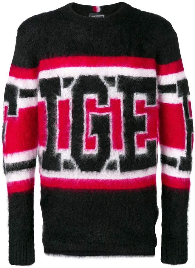 Tommy Hilfiger (トミー ヒルフィガー) - Hilfiger Collection logo jumper