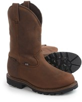 "Justin Boots 11"" Stag Gaucho Work Boots - Waterproof, Insulated, Leather (For Men)"
