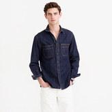 J.Crew Selvedge indigo denim shirt