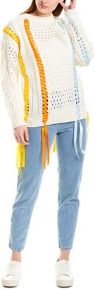 Beulah Lacing Sweater