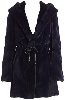 Zandra Rhodes For The Fur Salon Sheared Mink Anorak