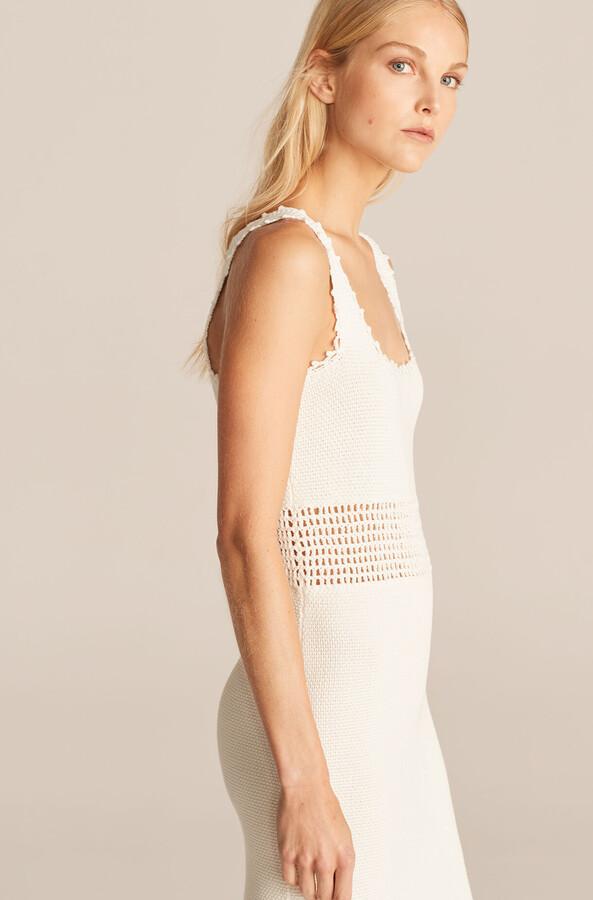Thumbnail for your product : Rebecca Taylor Crochet Trim Mini Dress