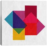 STUDY Modern Art of Colors Canvas Print