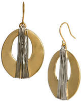 Kenneth Cole New York Wrapped Oval Drop Earring