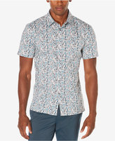 Perry Ellis Men's Big & Tall Painted Floral Shirt, A Macy's Exclusive Style