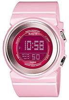 Casio Women's Baby-G BGD100-4 Pink Resin Quartz Watch with Digital Dial