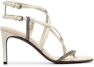 Brunello Cucinelli Monili Strappy Sandals