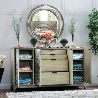 Bungalow Rose Rusnak 7 Drawer Double Dresser