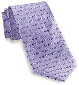 Rochester Hummingbird Printed Silk Tie Casual Male XL Big & Tall
