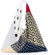 MM6 MAISON MARGIELA patchwork silk tote