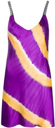 Palm Angels Tie-Dye Mini Dress