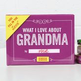 Knock Knock What I Love About Grandma Journal