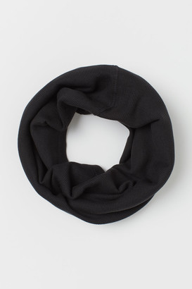 H&M Ribbed cotton tube scarf