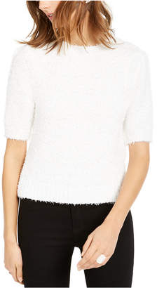 INC International Concepts Inc Short-Sleeve Puff Sweater