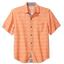 Tommy Bahama Coconut Point Geo Regular Fit Camp Shirt