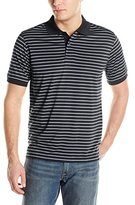 Izod Men's Feeder Stripe Jersey Polo