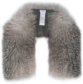 Inverni knitted cashmere fox fur scarf - women - Fox Fur/Cashmere - One Size