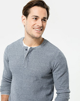 Le Château Knit Henley Sweater