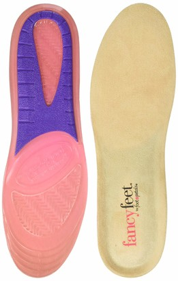 Foot Petals Fancy Feet Women's Gel Insole with Microsuede