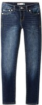 Levi's Kids 710tm Super Skinny Jean (Big Kids) (Blue Asphalt) Girl's Jeans