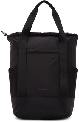 Norse Projects Black Hybrid Backpack