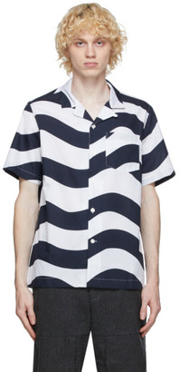 Wood Wood White Brandon Short Sleeve Shirt