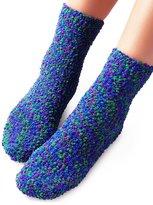 Vero Monte 4 Pairs Womens Crew Slipper Socks (Assorted) 42065CA