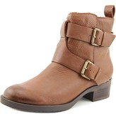 Kenneth Cole Reaction Pod Place Women Round Toe Leather Brown Ankle Boot.
