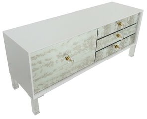 ModShop Juliette 1 Door Credenza Finish: White