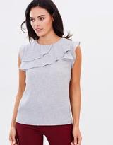 Oasis Linen Look Shell Top