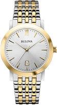 Bulova 38mm Men's Two-Tone Bracelet Watch