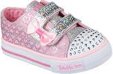 Skechers Shuffles Girls Glitter Pop Sneakers - Toddler