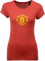 adidas Women's Manchester United International Soccer Club Team Crest T-Shirt
