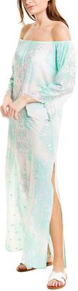 Taj By Sabrina Crippa Off-The-Shoulder Maxi Dress