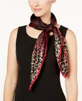Vince Camuto Ombré Splash Pleated Silk Square Scarf