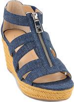 Lauren Ralph Lauren Kelcie Platform Wedge Espadrille Sandals