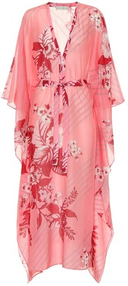 Etro Floral cotton and silk kaftan