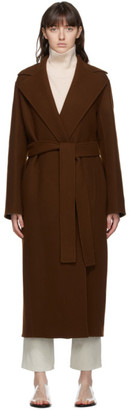 The Row Brown Malika Coat