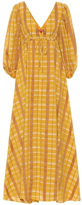 STAUD Amaretti cotton-blend maxi dress