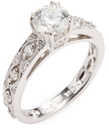 Rina Limor Fine Jewelry 18K White Gold & 1.44 Total Ct. Diamond Engagement Ring
