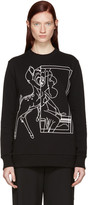 Givenchy Black Bambi Sweatshirt