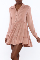 En Creme Dusty Rose Dress
