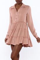 En Creme Dusty Rose Dress