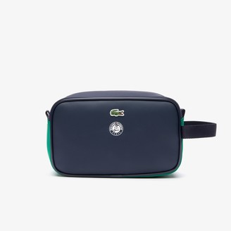 Lacoste Men's Roland Garros Nylon Zippered Toiletry Bag