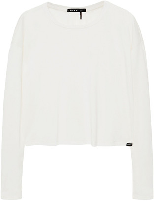 Koral Cropped Modal-blend Top