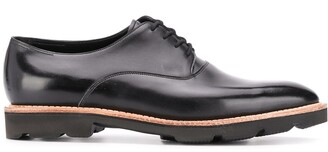 John Lobb Contrast Sole Monk Shoes